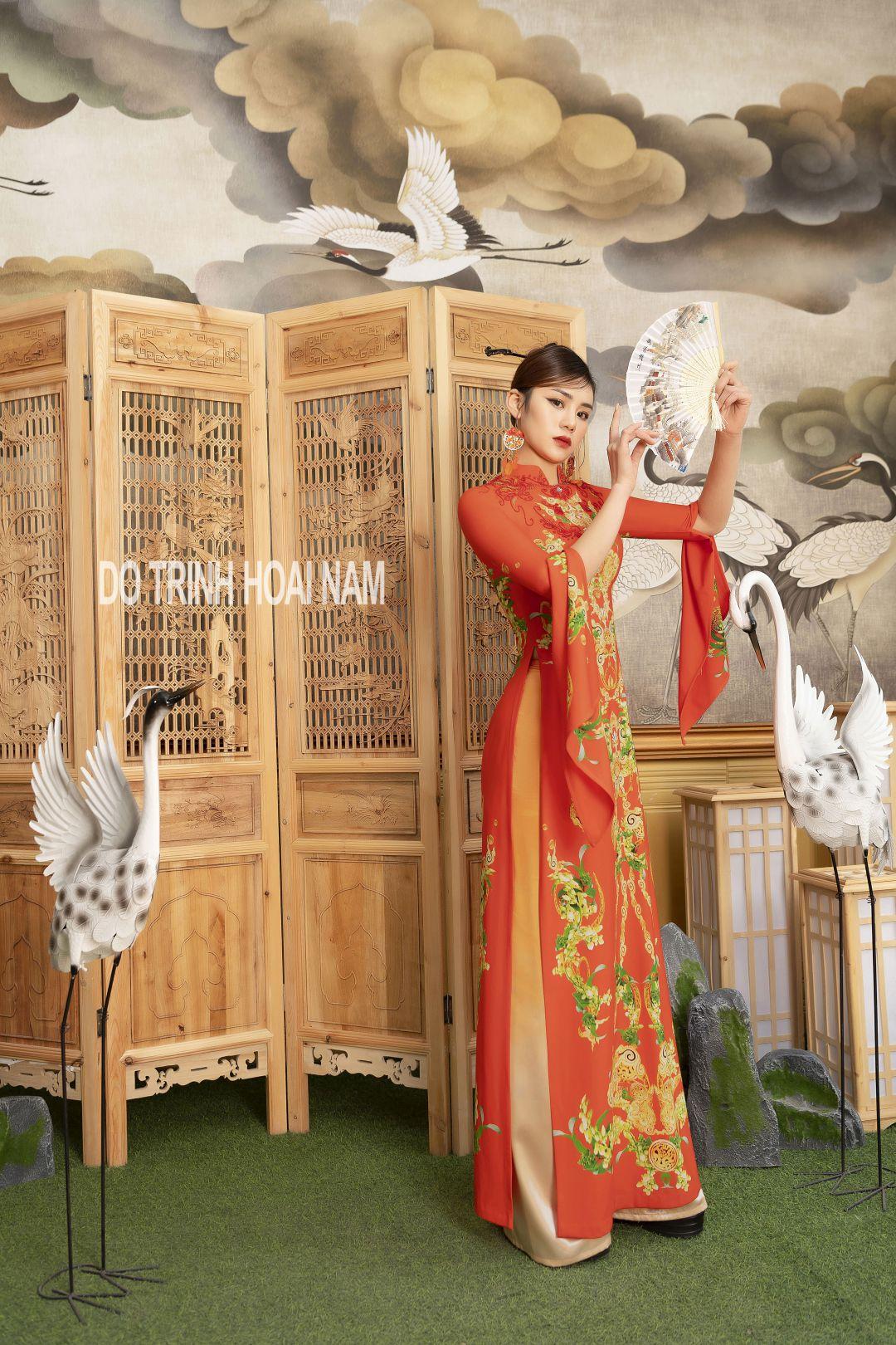 """Kim Oanh làm """"nàng thơ"""" trong bộ sưu tập xuân của NTK Đỗ Trịnh Hoài Nam"""