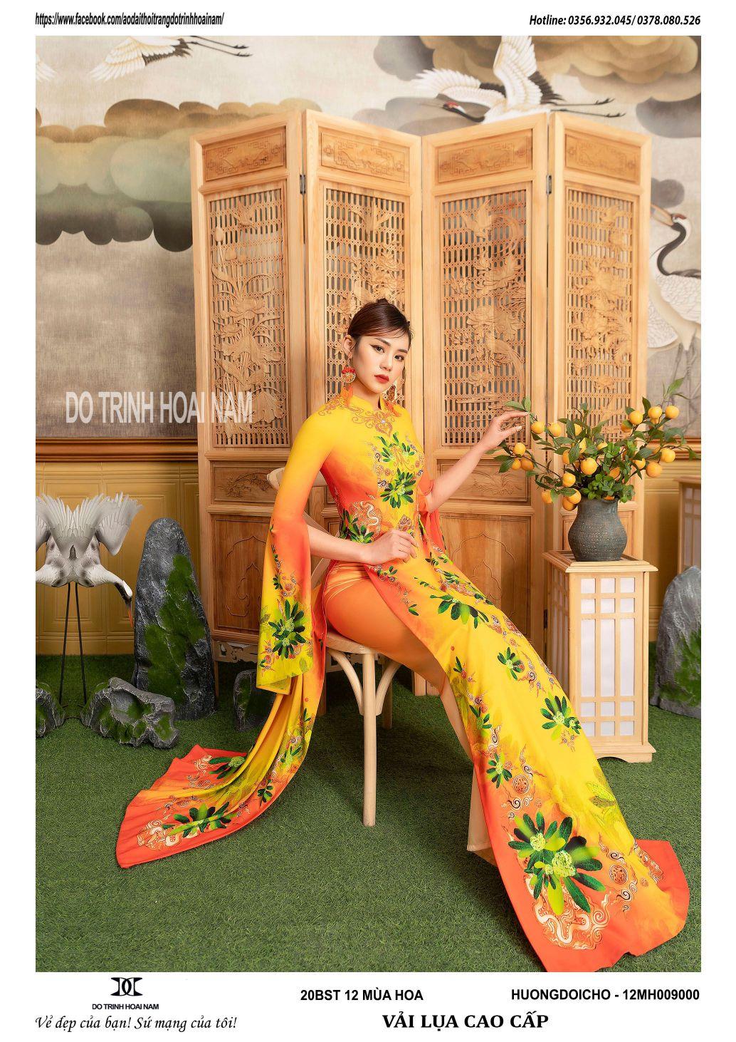 Top 30+ mẫu áo dài truyền thống, hiện đại đẹp nhất tết 2021