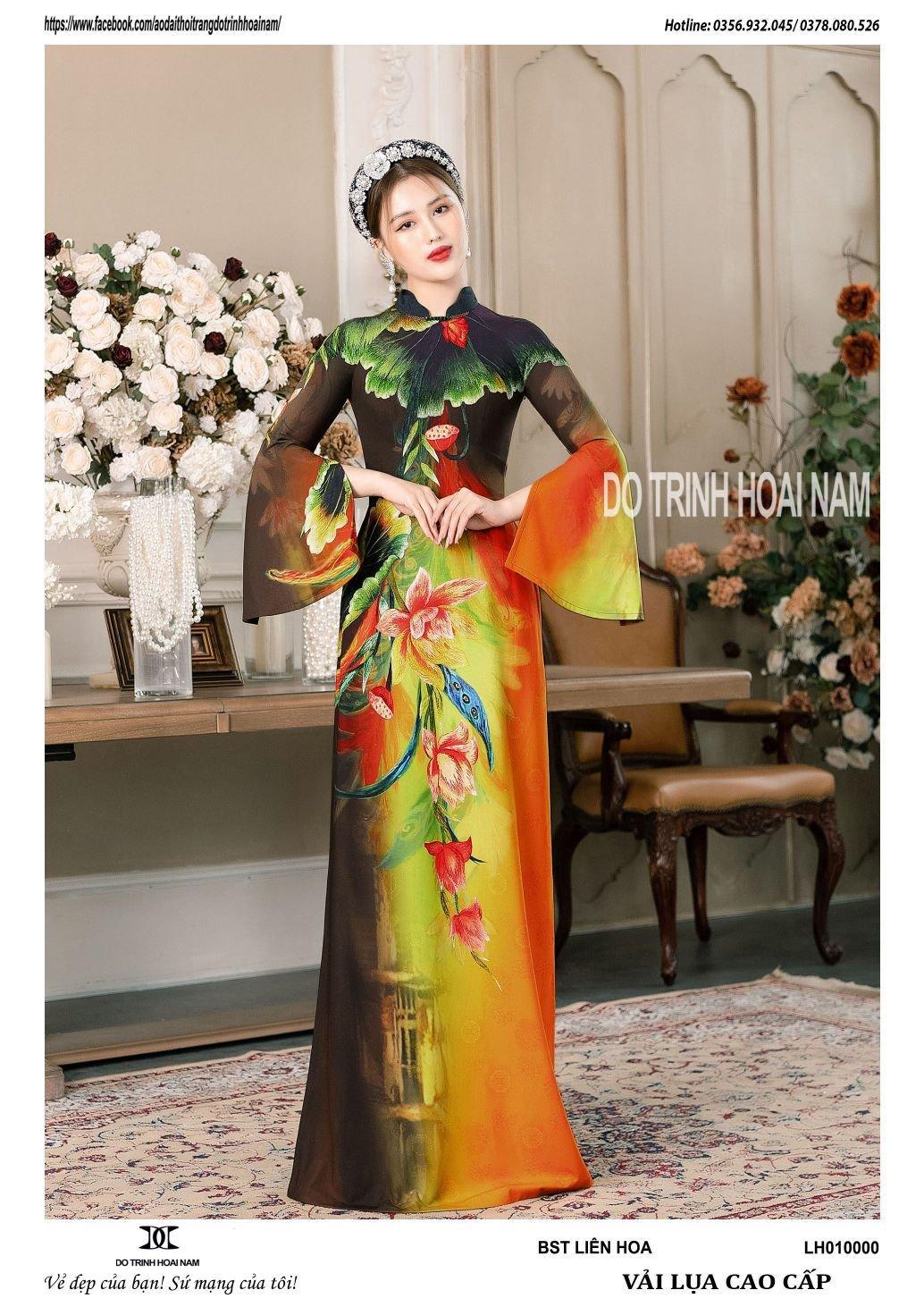 Những mẫu áo dài cho phụ nữ U70 đẹp, trẻ trung